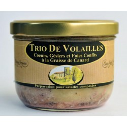 Trio de Vollailles
