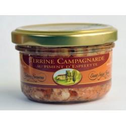 Terrine campagnarde au piment d'Espelette
