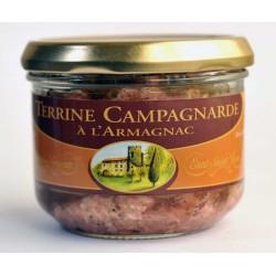 Terrine campagnarde à l'Armagnac