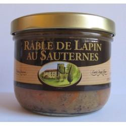 Râble de Lapin au Sauternes