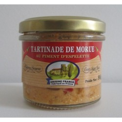 Tartinade de Morue au Piment d'Espelette