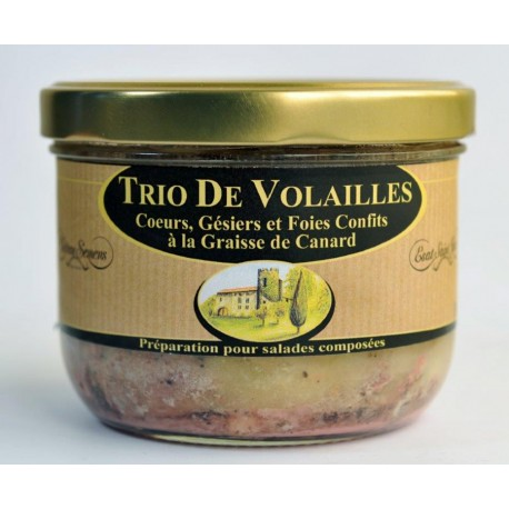 Trio de Vollailles