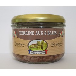 Terrine aux 5 Baies